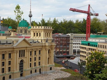 Berlin in miniature at LEGOLAND Discovery Centre