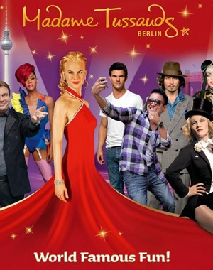 Tussauds and Combi Hop On Hop Off Bus Tour A 24 h
